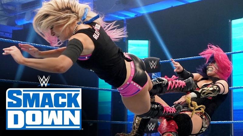 Alexa Bliss vs Asuka SmackDown March 27 2020