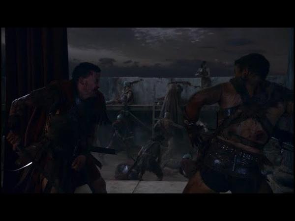 Я Свободный Человек! | Спартак Vs Глабра | Финал | Spartacus: Vengeance | Месть |