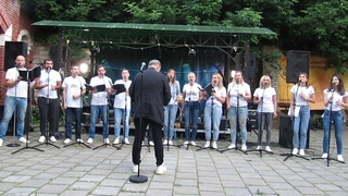 Джазовый a cappella хор Jazz Friends п/у Владимира Сидорковича.