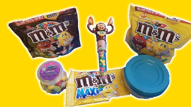 Mixing Candy MM's and Skittles with Baby Sharg Song - Kids Kiddy Show