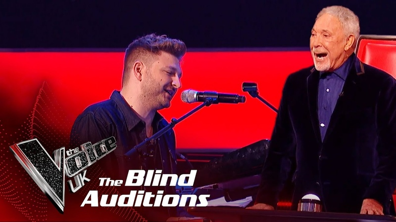 Sir Tom Jones Peter Donegan's 'I'll Never Fall In Love Again' |Blind Auditions| The Voice UK 2019
