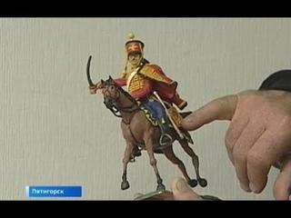 В Пятигорске слесарь-историк создает пластилиновые миниатюры
