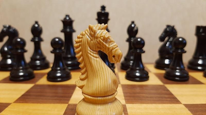 Шахматы Конь ставит супер мат Отдаем ферзя Обучение шахматам