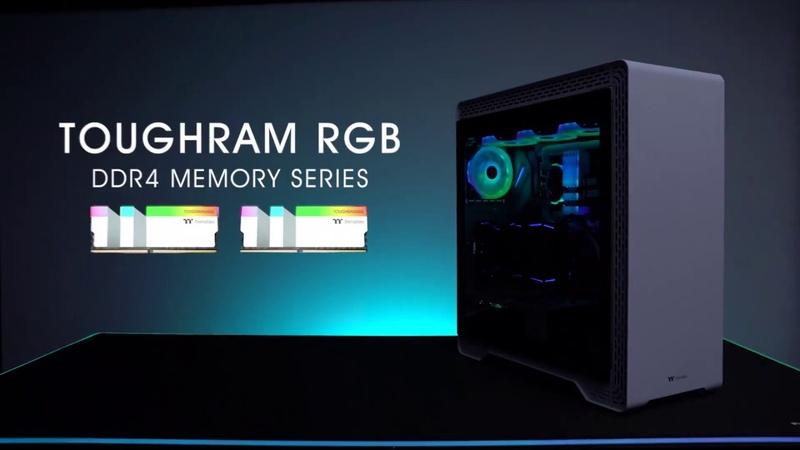 Thermaltake Memory TOUGHRAM RGB Memory Kit White Edition