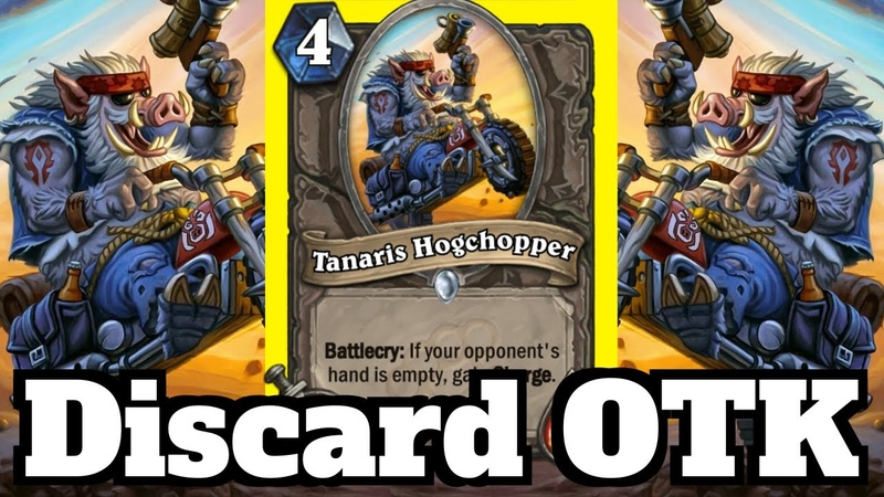 Tanaris Hogchopper OTK! Co-Op with Firebat! | Hearthstone