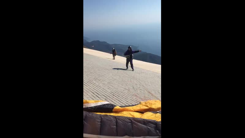 Старт с горы Бабадаг