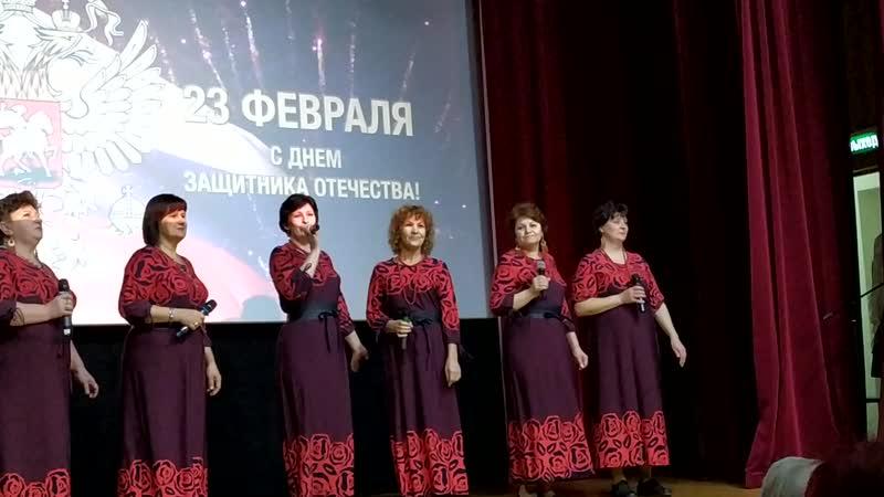 Вокальный ансамбль Рябиновые бусы цкрЮбилейный Дрезна