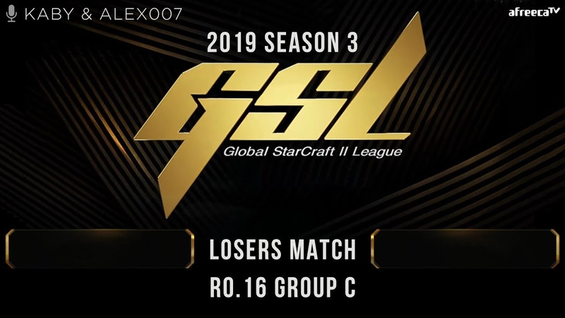 [2019 GSL Season 3] Round of 16 | Group C | Losers Match: Maru (T) vs. Stats (P)