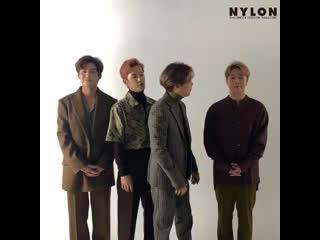 FTISLAND message for NYLON Korea