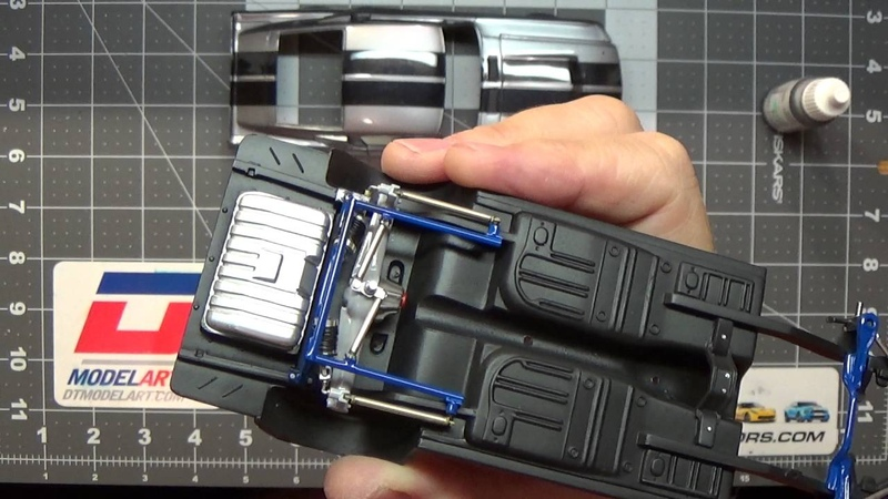 1967 Shelby Mustang GT500 Eleanor scale model build-up video part 6