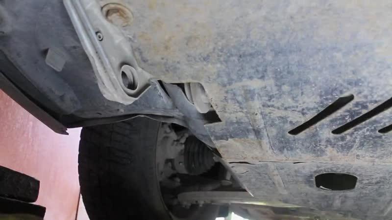 Защита двигателя и её дребезжание Заз ланос, Шанс, Форза