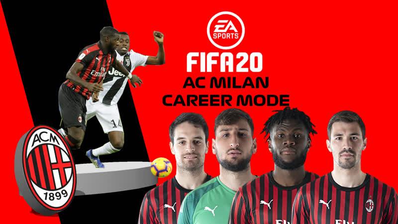 AC Milan FIFA 20 Career Mode Intro