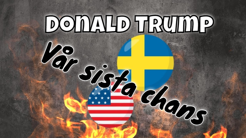 Donald Trump Detta är vår SISTA chans