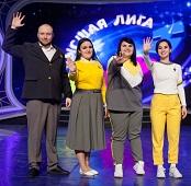 Липецкие юмористы прошли в ¼ финала Высшей лиги КВН