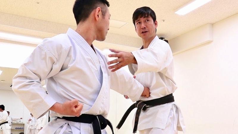 空手の正中線と重心移動がよく分かる稽古 自宅でやってみよう Let's train Karate with Naka sensei at home PART2