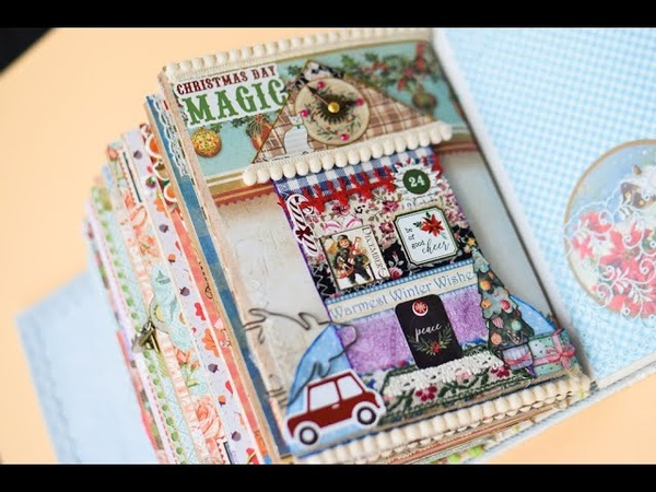 DECEMBER process video 12 months journal catalogue