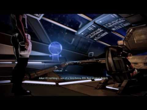 Mass Effect 2 - EDI playing with Jokers seat