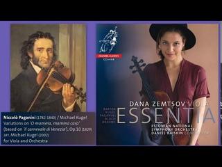 Niccolò  Paganini: Variations on 'O mamma, mamma cara' from 'Il carnevale di Venezia',