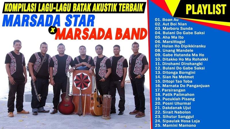 25 Koleksi Lagu Batak MARSADA STAR MARSADA BAND TERPOPULER FULL ALBUM NONSTOP