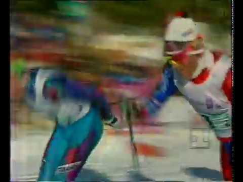 1994 02 22 Олимпийские игры Лиллехаммер лыжные гонки 4x10 км эстафета мужчины