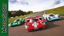Triple test: Porsche 917, Ferrari 512S and Lola T70