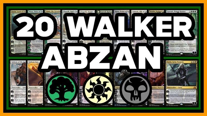 🍞 20 WALKER ABZAN w/ Garruk Cursed Huntsman 【 Superfriends 】 ► MTG Modern Gameplay ◄