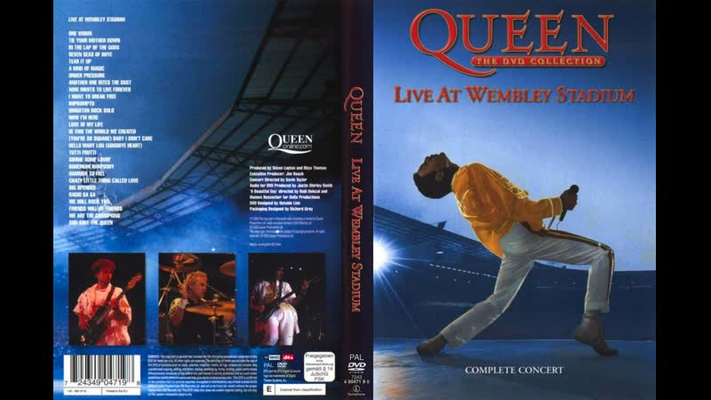 Queen - Hammer To Fall (Live At Wembley Stadium Saturday 12-07-1986)
