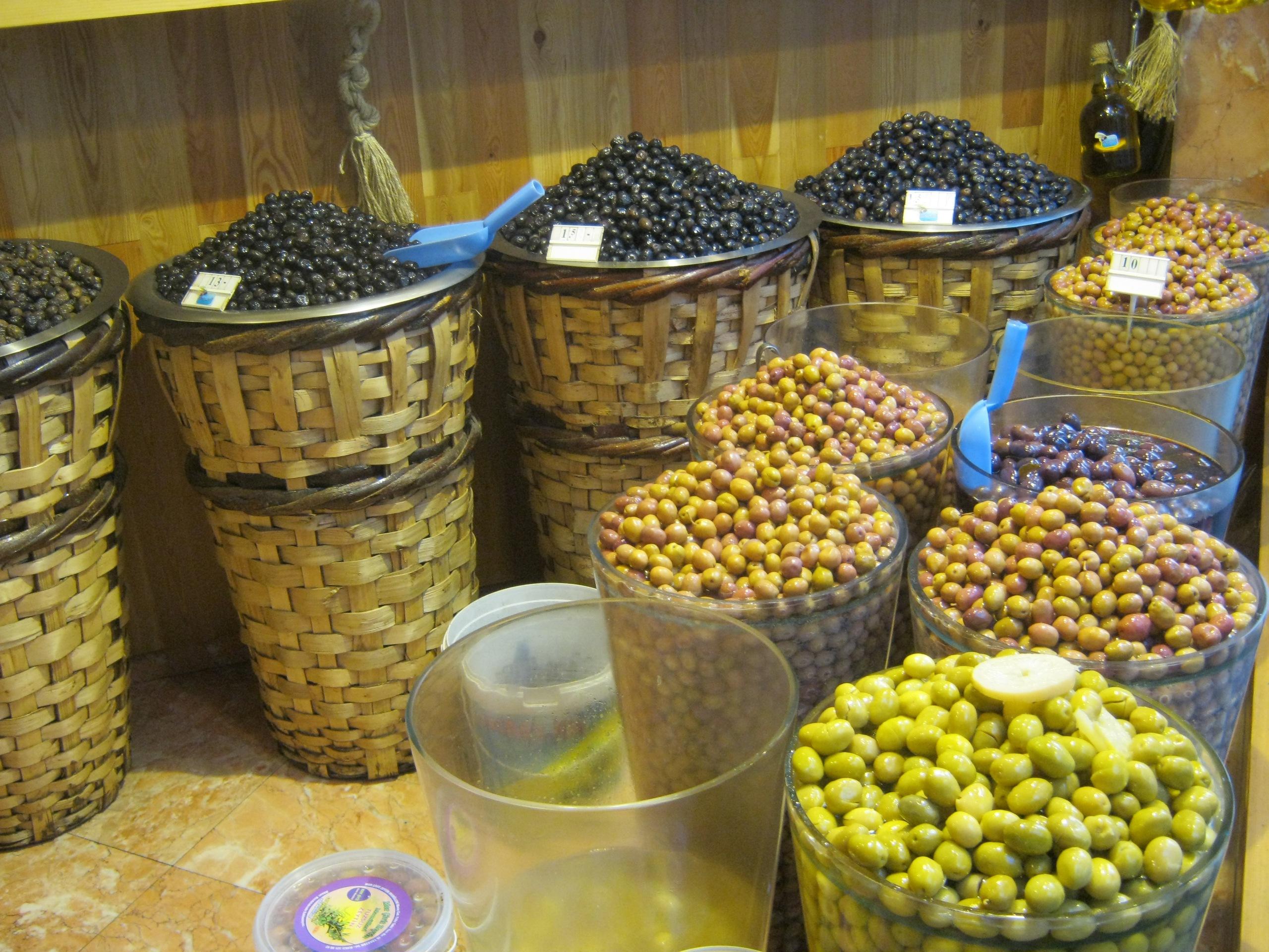 Оливки в Турции