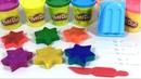 Готовим Разноцветное Мороженое Открываем Сюрприз-Коробочки - Робокар Поли, Маша и Медведь, Пятачок