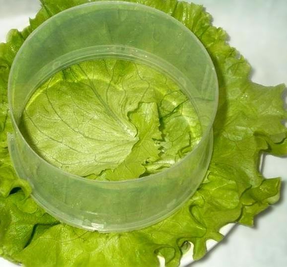 Салат слоями с печенью трески, изображение №2
