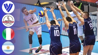 Italy vs. Argentina - Full Match | Men's Volleyball World Cup 2015