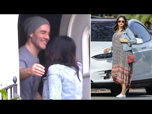 Jenna Dewan Pays A Visit To Pal James Van Der Beek And His Wife Kimberly Brook