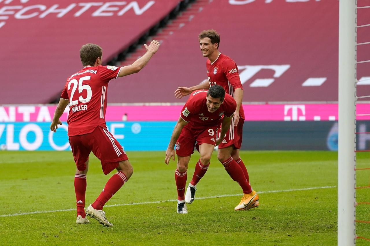 Бавария - Айнтрахт Франкфурт, 5:0