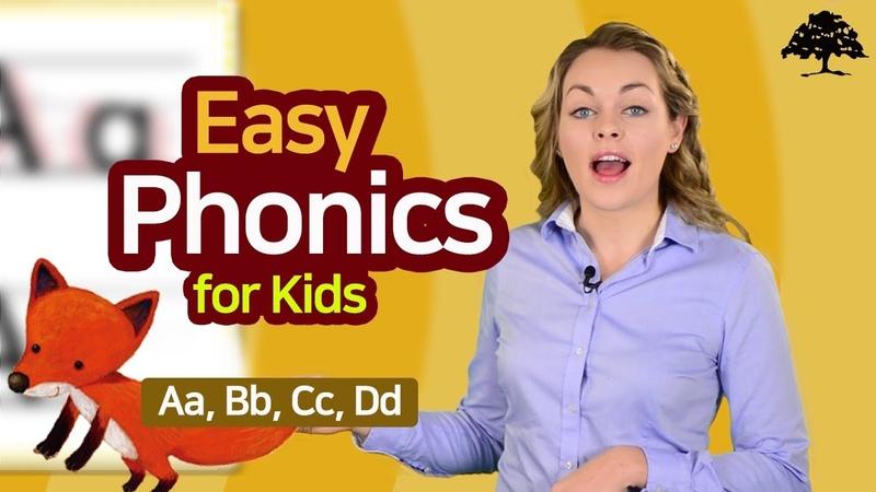 Easy Phonics 1 (Unit 1 Aa, Bb, Cc, Dd )   Phonics for Kids   Alphabet   Learn to Read