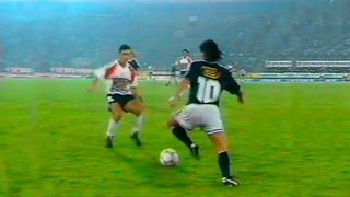 El increíble show de Maradona en la despedida de su amigo Funes (1992)
