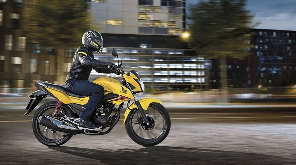 Honda CB125F - бестселлер на британском рынке