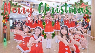[Christmas Busking]We Wish You A Merry Christmas l Coco Mademoiselle