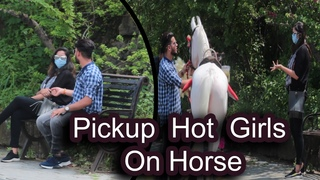 #Prank Picup Hot Girls On  Horse Prank By #Bunty_k_official