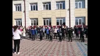 «Областная зарядка» в МАОУ Сорокинская СОШ 3