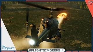 Многоликий «Ирокез»: выполняем операции на UH-1H   DCS World 🔴