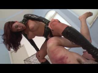 Megan Jones Let s Slave Out  strapon dom... золотой дождь