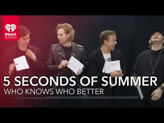 Can 5 Seconds Of Summer Name All Their Dogs   Who Knows Who Better? [RUS SUB]