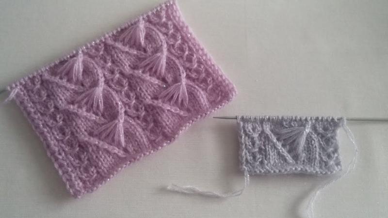 Yarım Yelpaze Modeli Knitting Patterns Yelek Modelleri