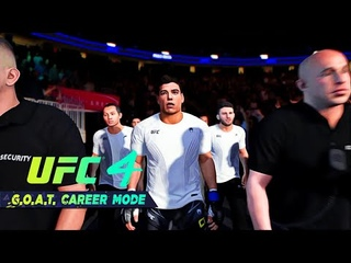 UFC 4 Career Mode Gameplay Walkthrough Ep 31 - PAULO COSTA THE KICKBOXER