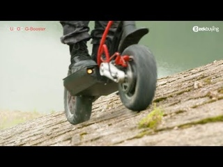 KUGOO G-BOOSTER Scooter Official Video