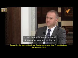 Syrian President Assad interviewed on the 5th anniversary of Russian assistance to Syria
