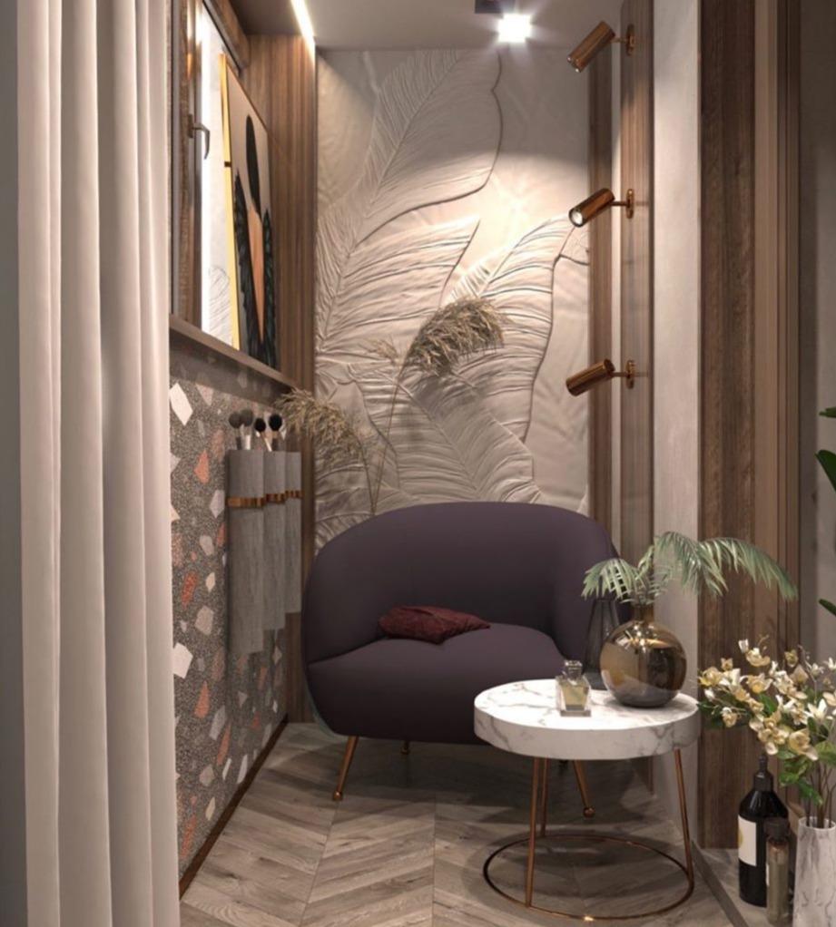 Проект квартиры 120 м2 от ds_fresco.
