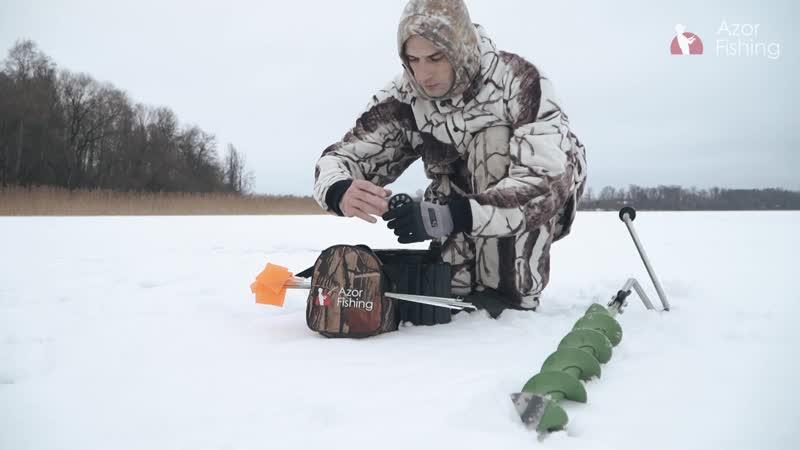 Зимняя рыбалка с AZOR FISHING