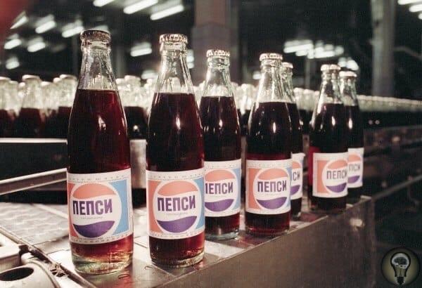 Интересная информация: Компания Pepsi в 1989 году находилась на 7 месте по числу владельцев подводных лодок в мире, после ряда стран. Pepsi в обмен на бутылки колы получила от СССР 17 подлодок.