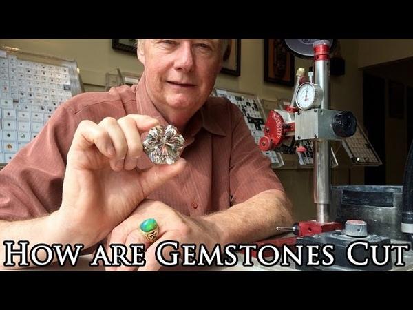 How are gemstones cut Quartz Faceting